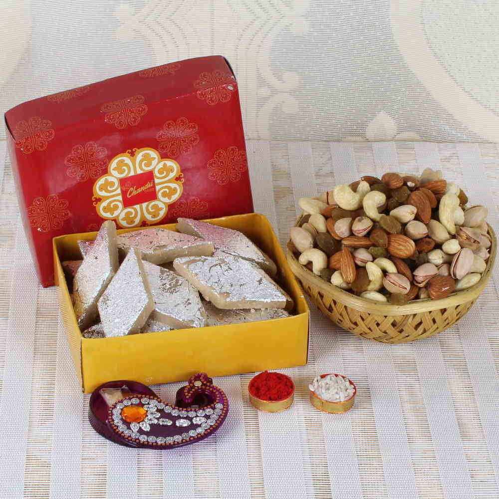 Bhai Dooj Special Goodies Basket