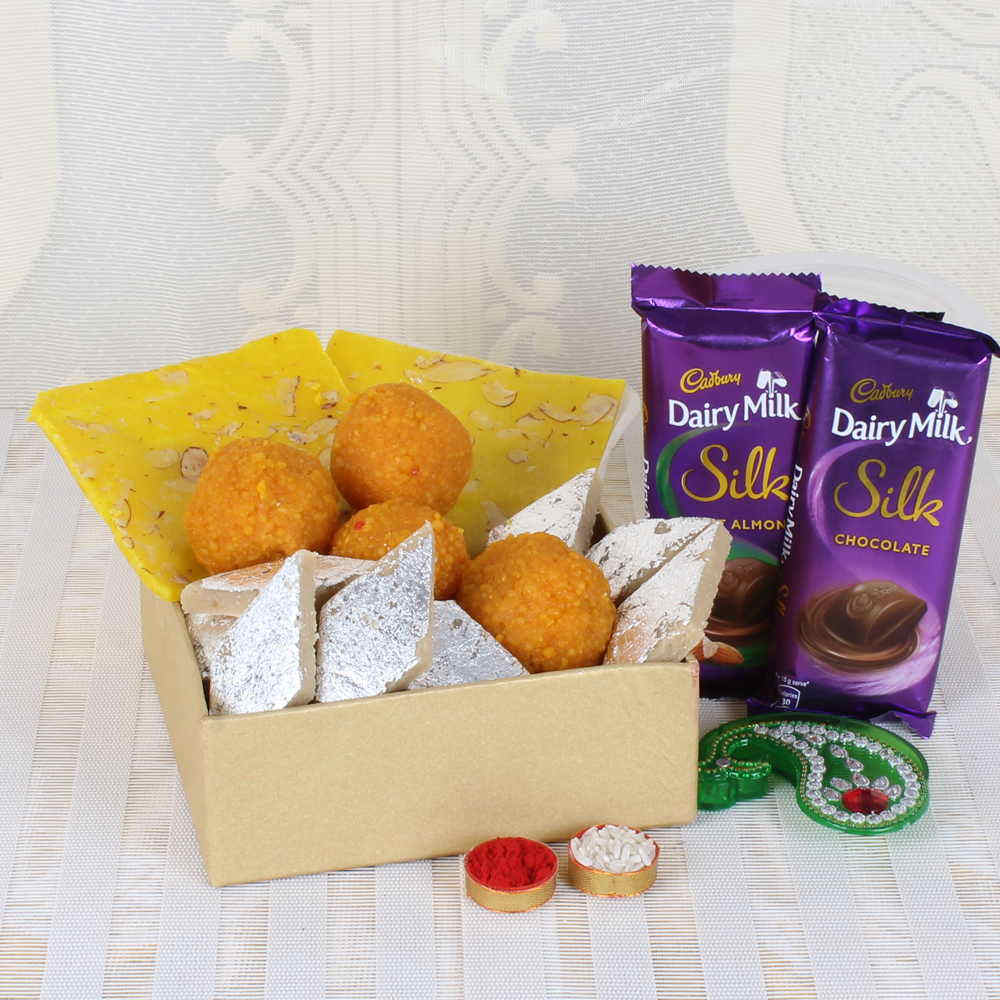 Bhai Dooj Special Chocolate and Dryfruit Combo