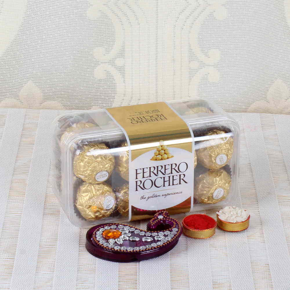 Ferrero Rocher Chocolate Gift for Bhai Dooj