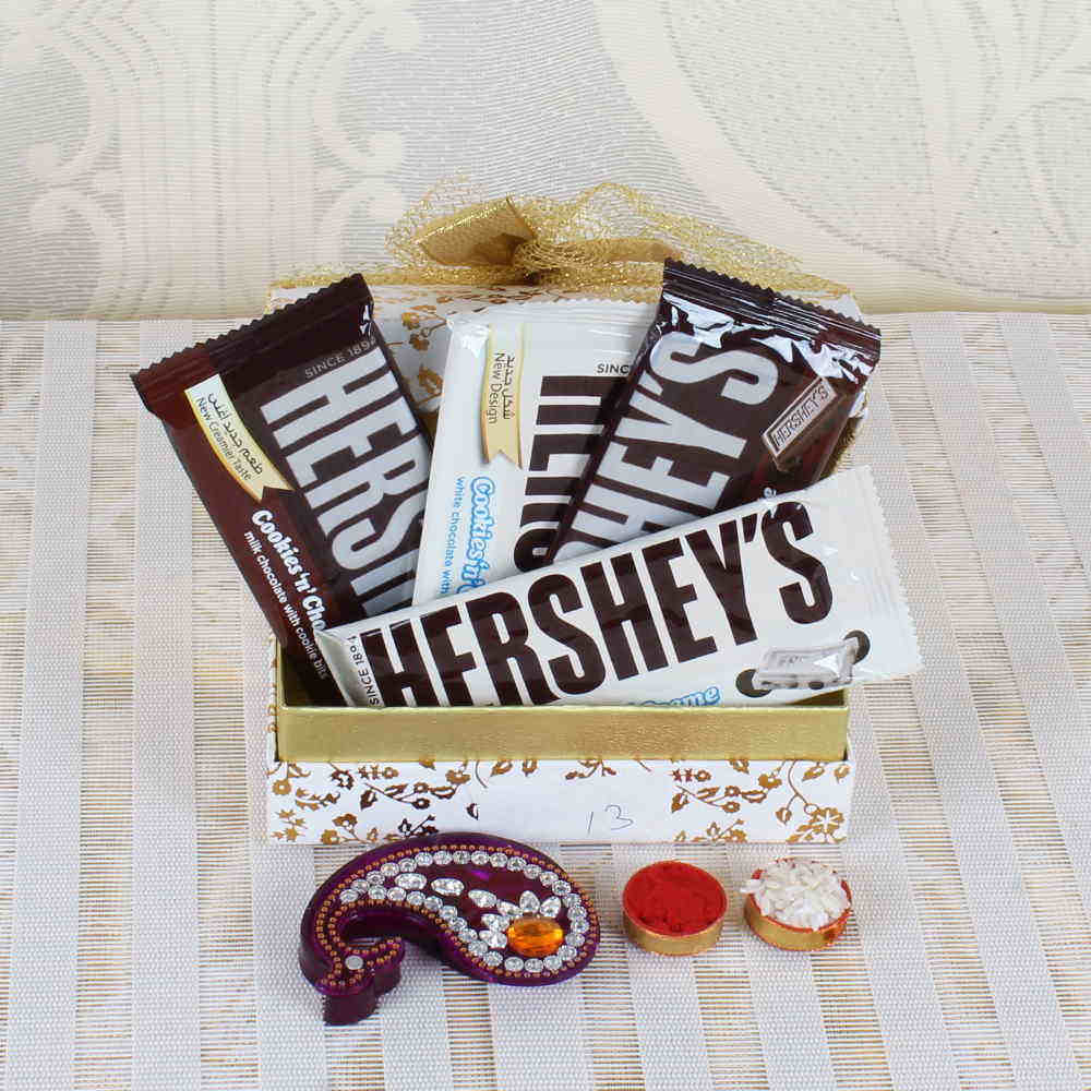 Hersheys Chocolate for Bhaidooj Gift