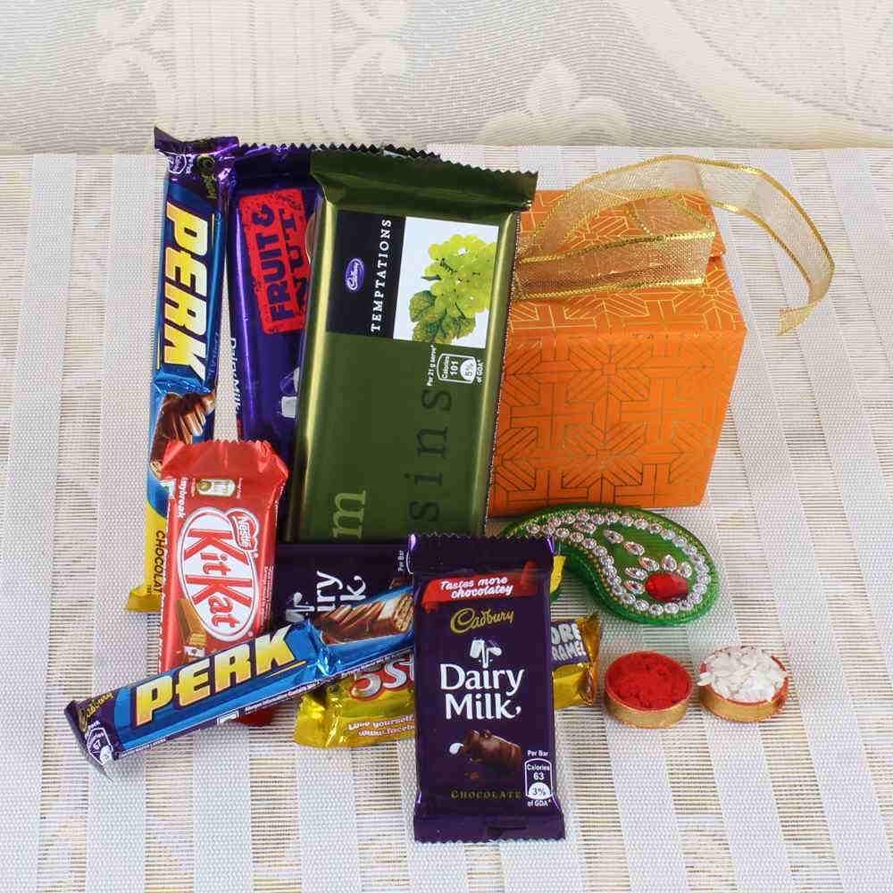 Bhai Dooj Chocolates with Tikka