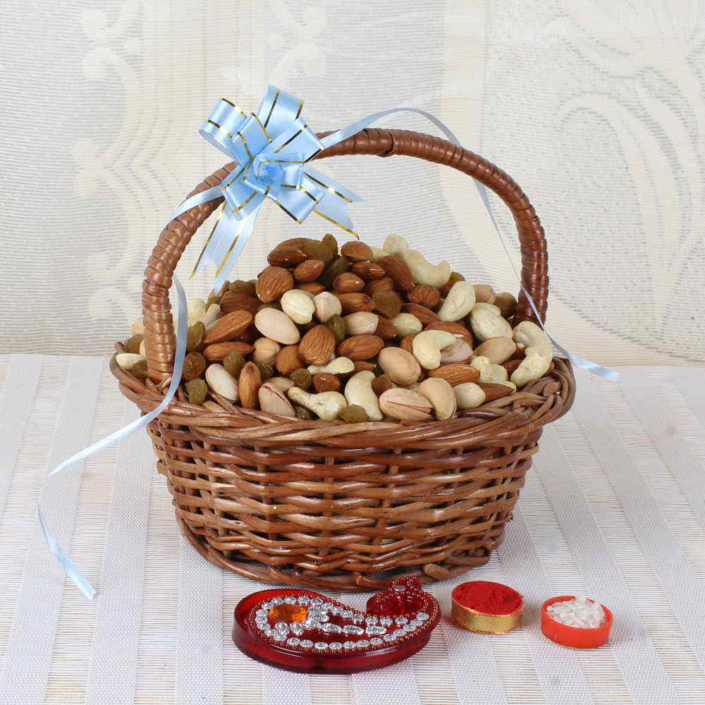 Bhai Dooj Exclusive Assorted Dry Fruit Basket
