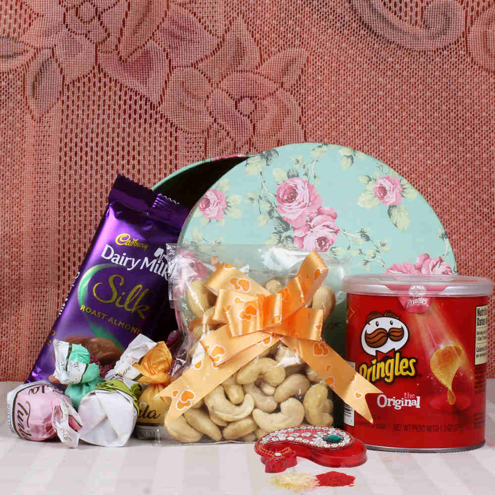 Dryfruit and Chocolate Hamper for Bhaidooj