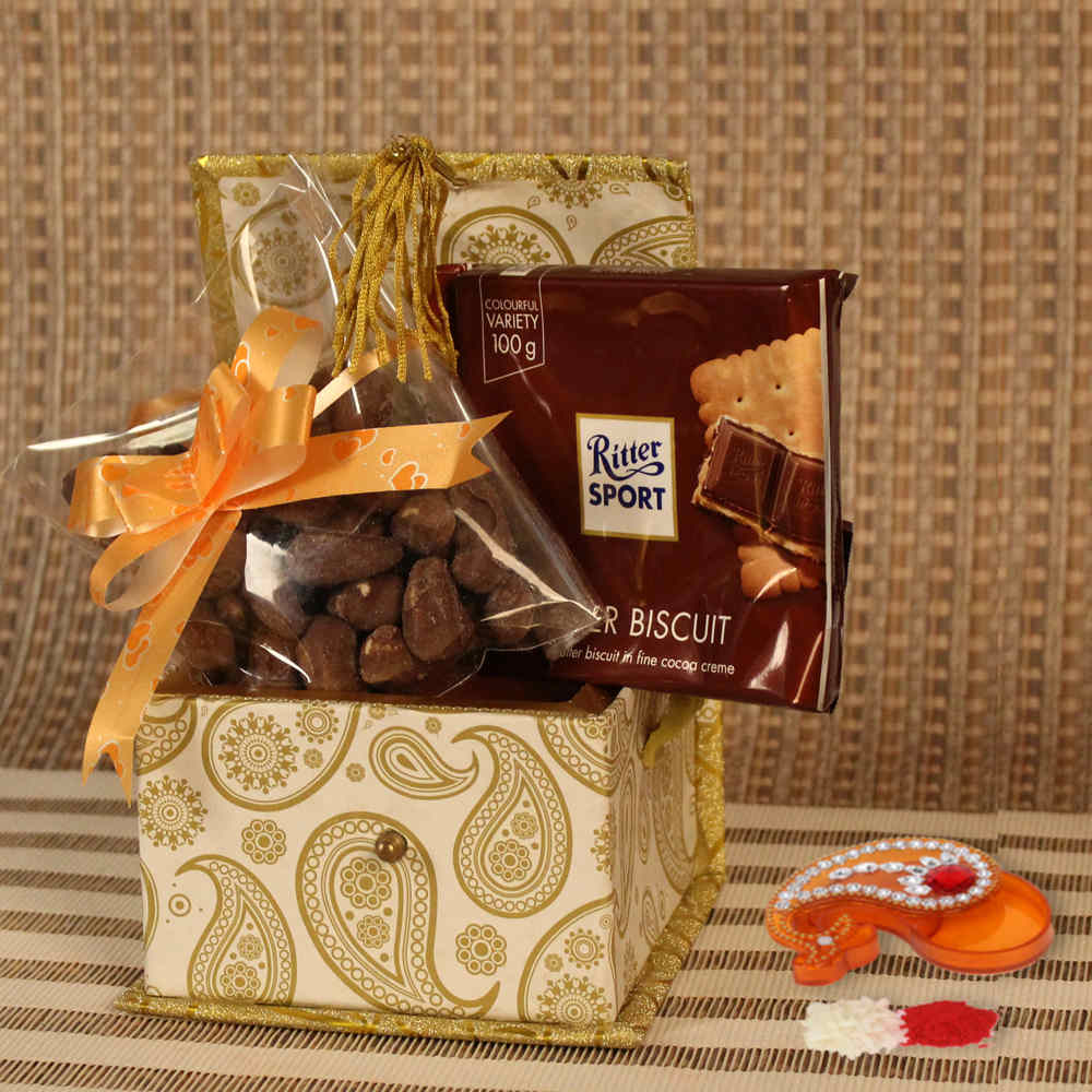 Imported Chocolates Hamper for BhaiDooj