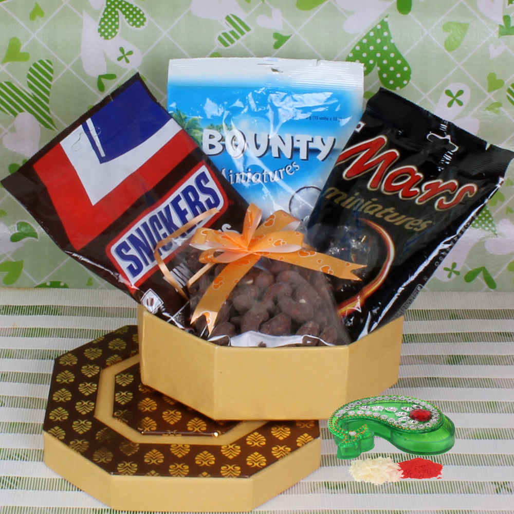 Bhaidooj Chocolate Hamper for Brother