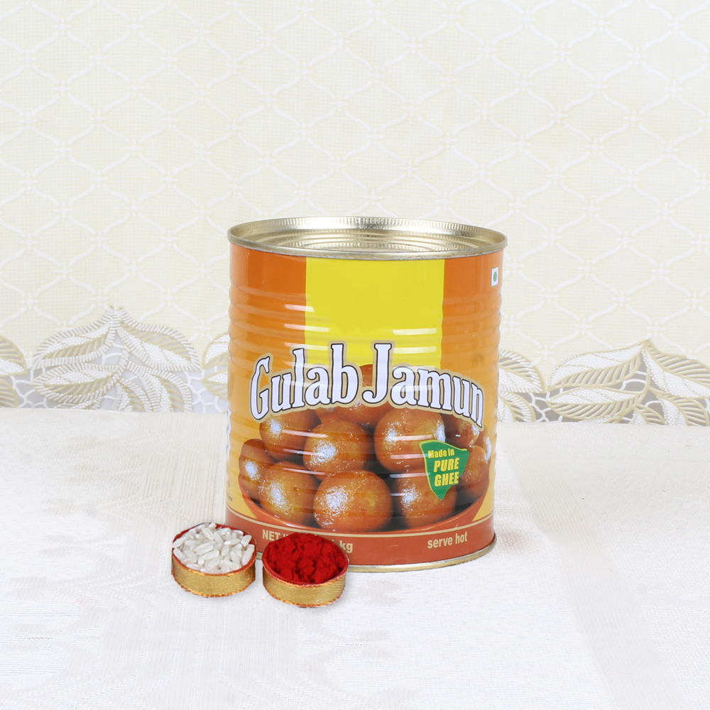Bhai Dooj Express Gift of Mouth Watering Gulab Jamun