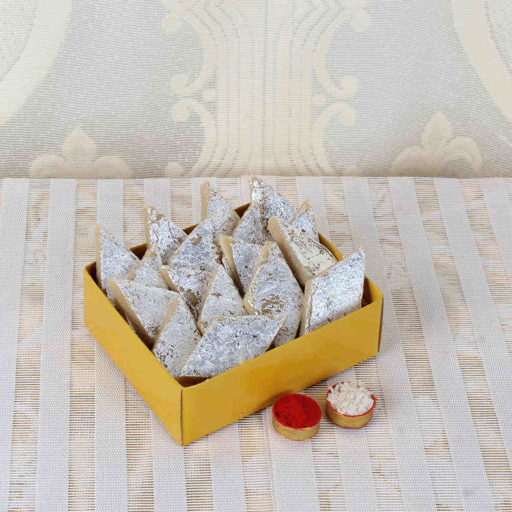 Kaju Katli Sweets Gift Box for Bhai Dooj