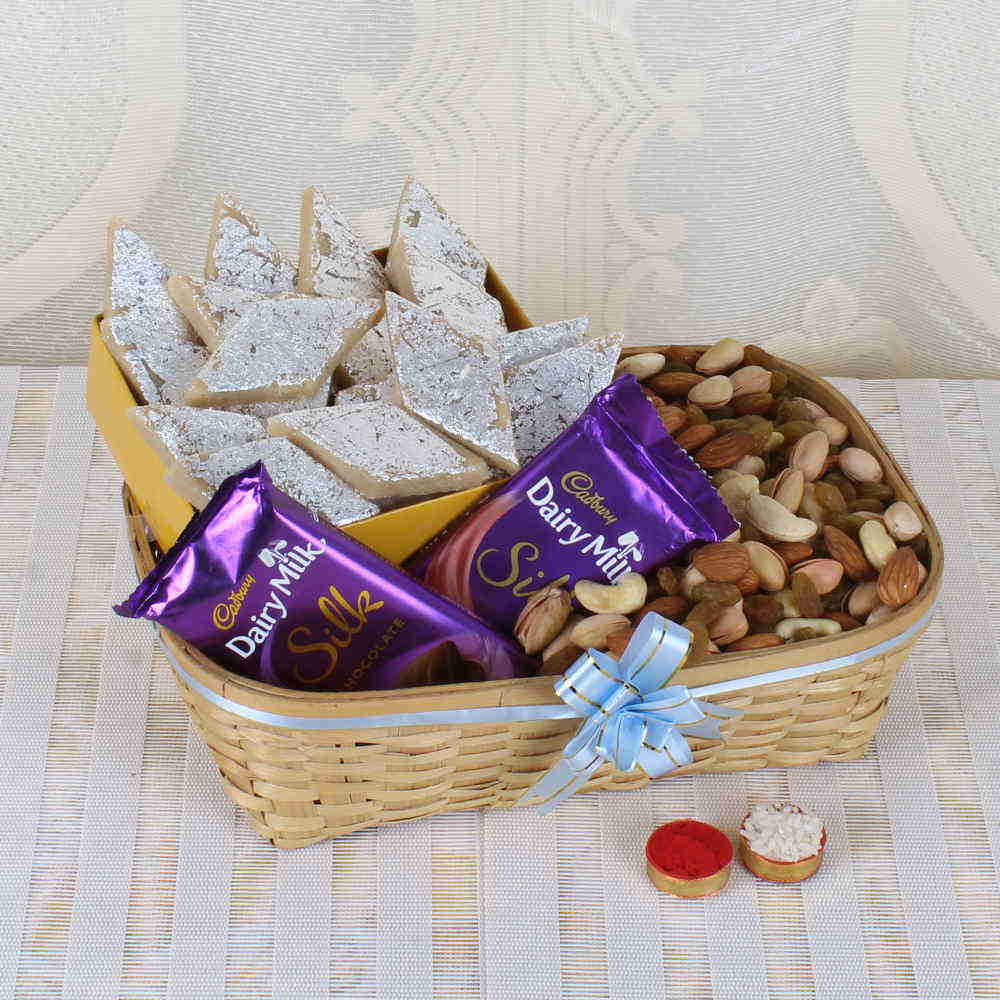 Same Day Delivery of Bhai Dooj Gift Basket