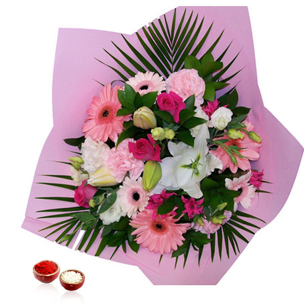 Bhai Dooj Exclusive Flowers Bouquet