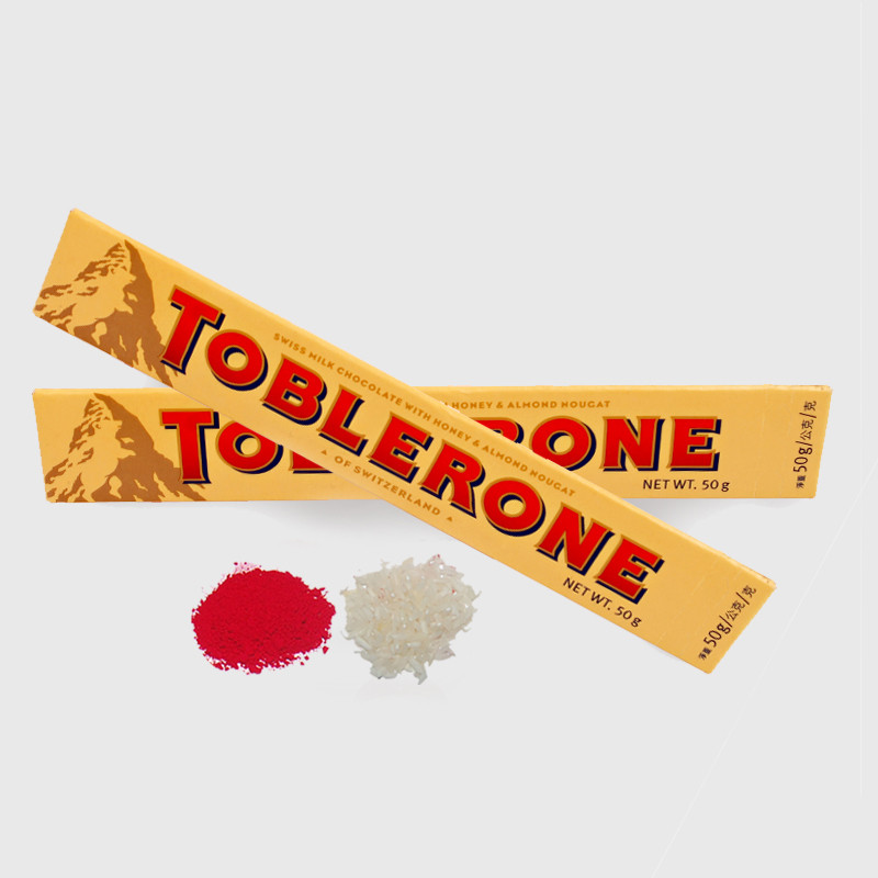 Bhai Dooj Gift of 2 Bars of Toblerone Chocolate