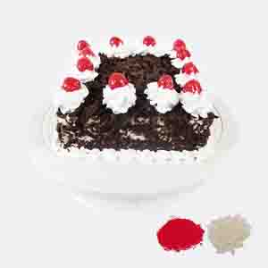 Cakes-Black Forest Cake For Bhaidooj
