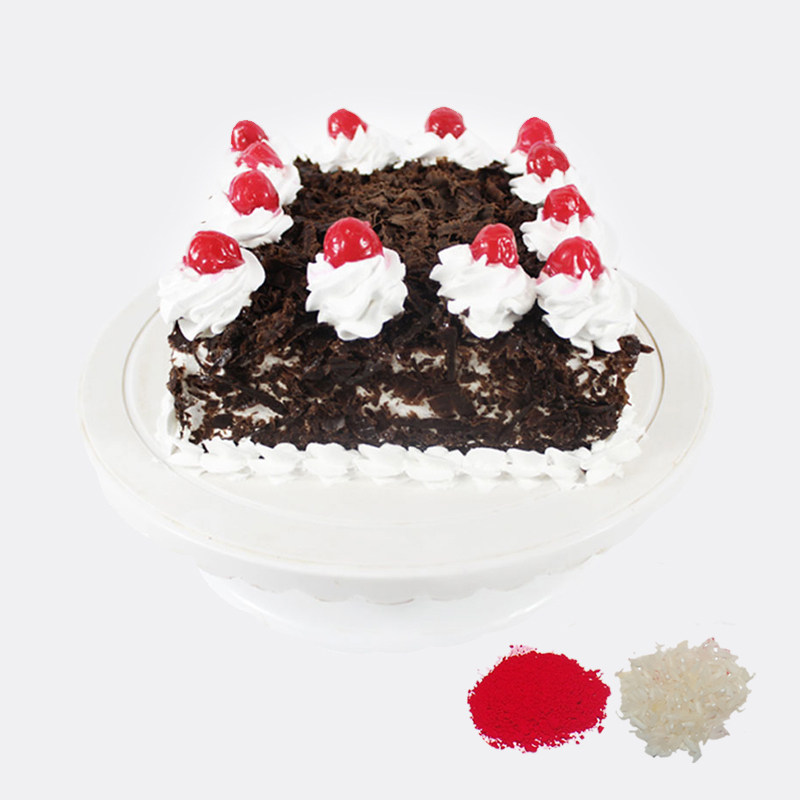 Black Forest Cake For Bhaidooj