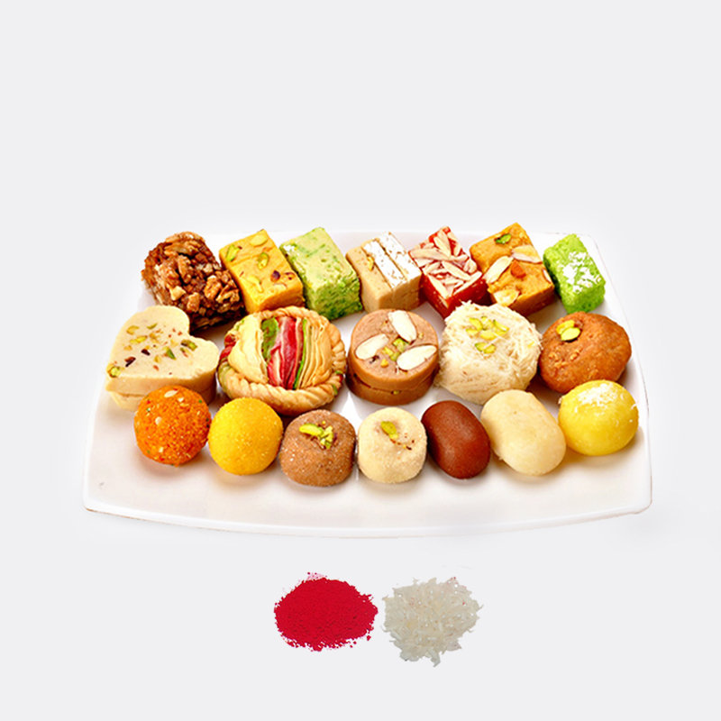 Bhai Dooj Assorted Sweets Combo