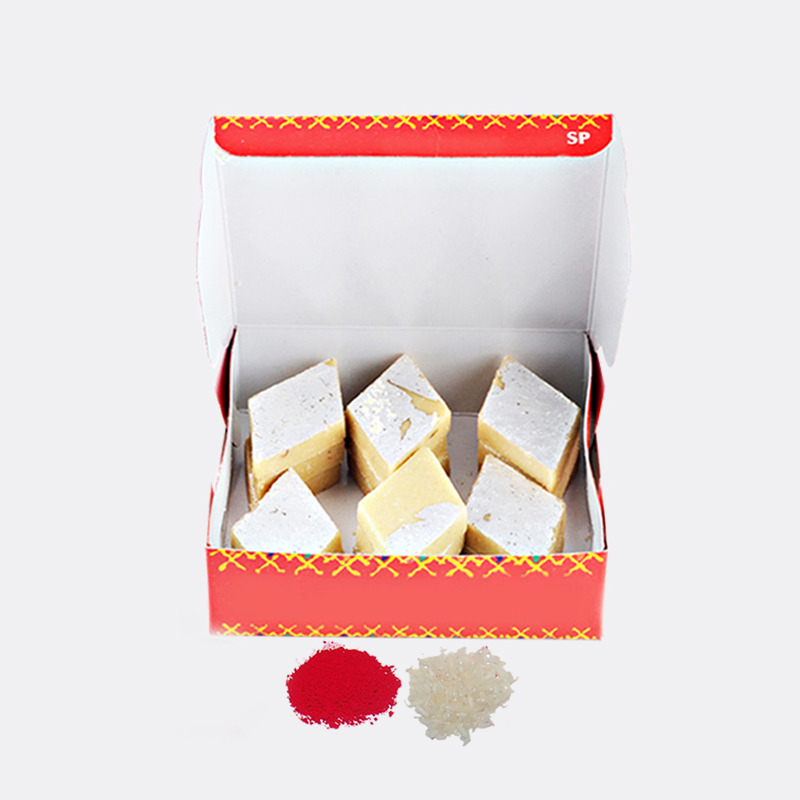 Kaju Katli Sweet for Bhai Dooj