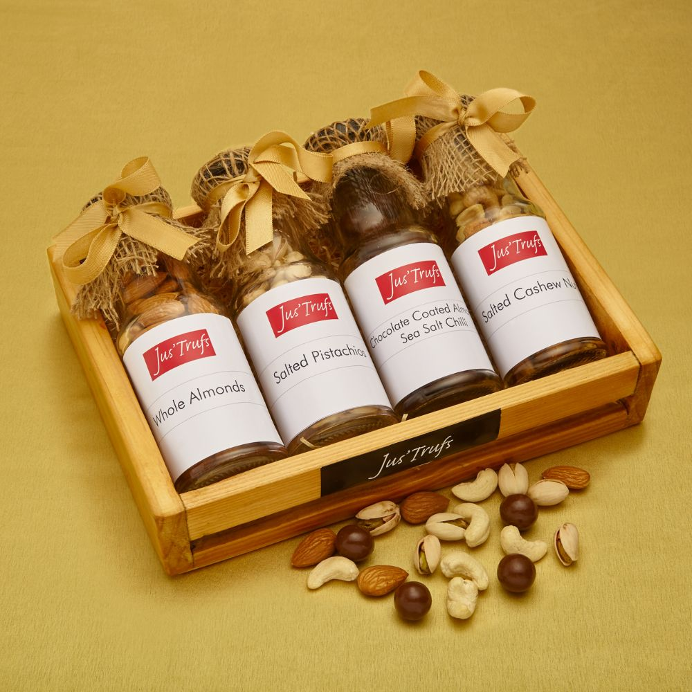 Dryfruits with Chocolate Coated Almonds Hamper