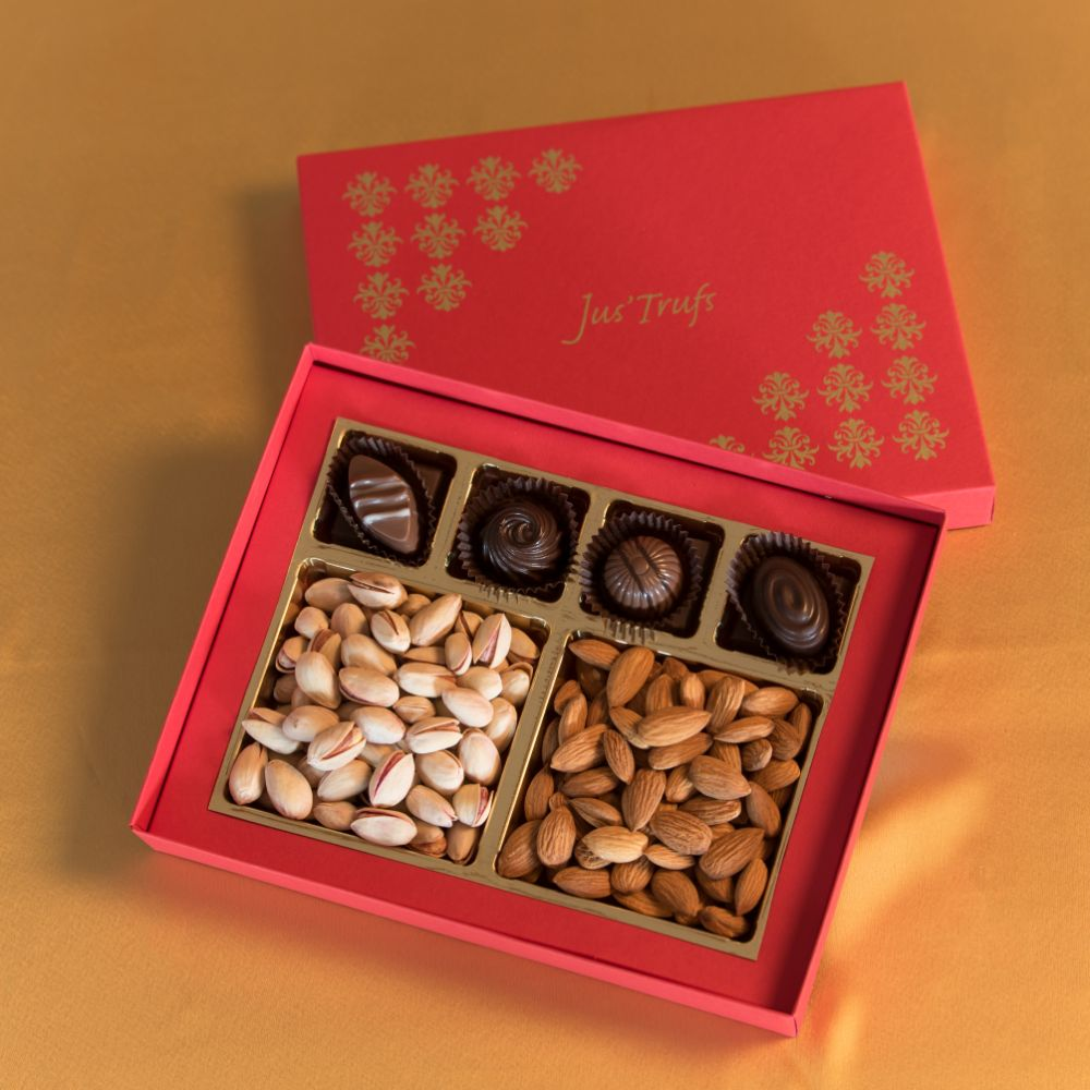 Joy box with Truffles and Dry Fruits