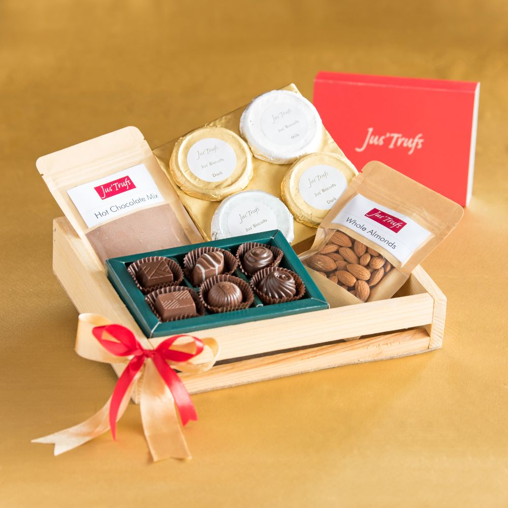 Nuts and Truffles Goodies Tray