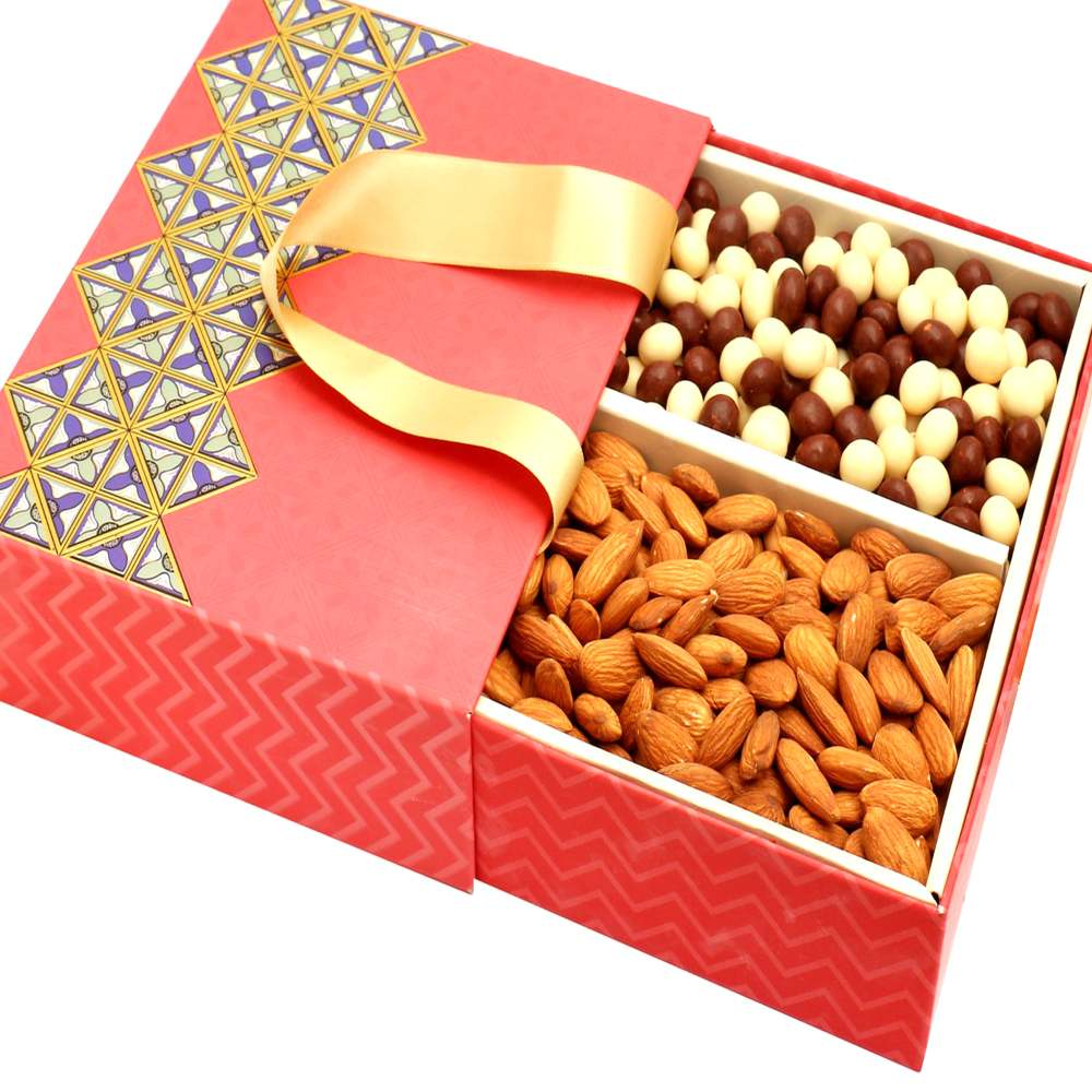 2 Part Almonds and Nutties Bag Box