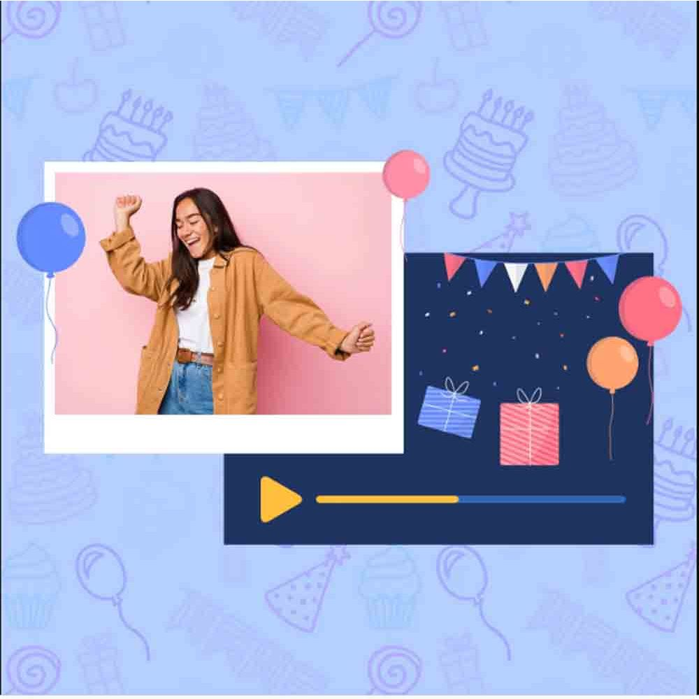 Gift Birthday Special Personalised Video Wishes on Digital