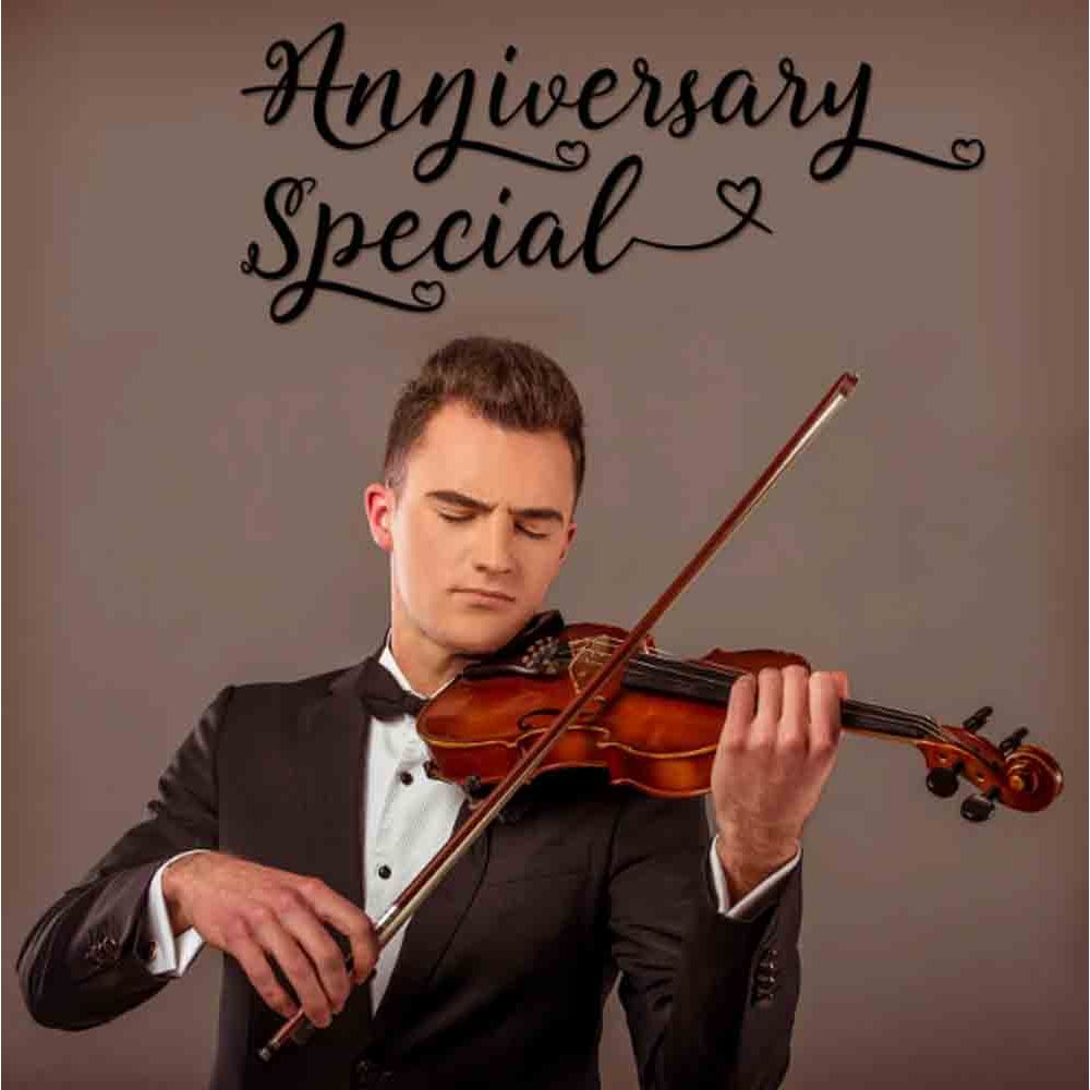 Anniversary Special Violinist on Video Call 10 15 Mins