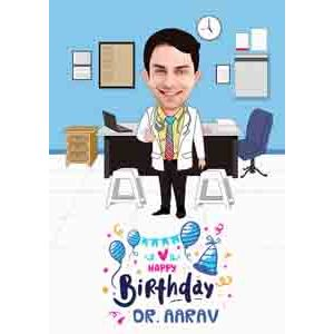 Digital Gifts-personalised caricature for him online