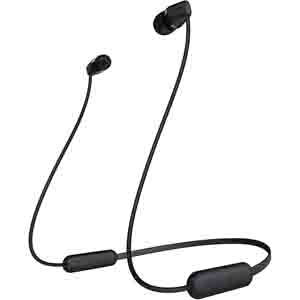 Headphones-Sony WI-C200 Bluetooth Headset with Mic