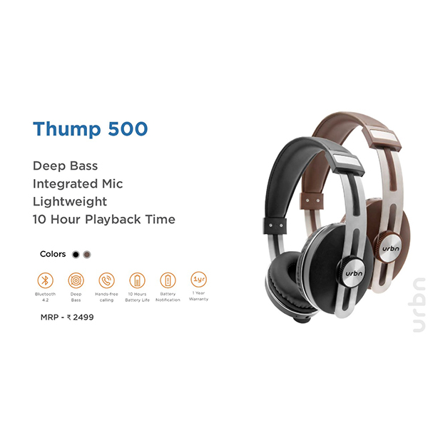 Headphones-URBN THUMP 500