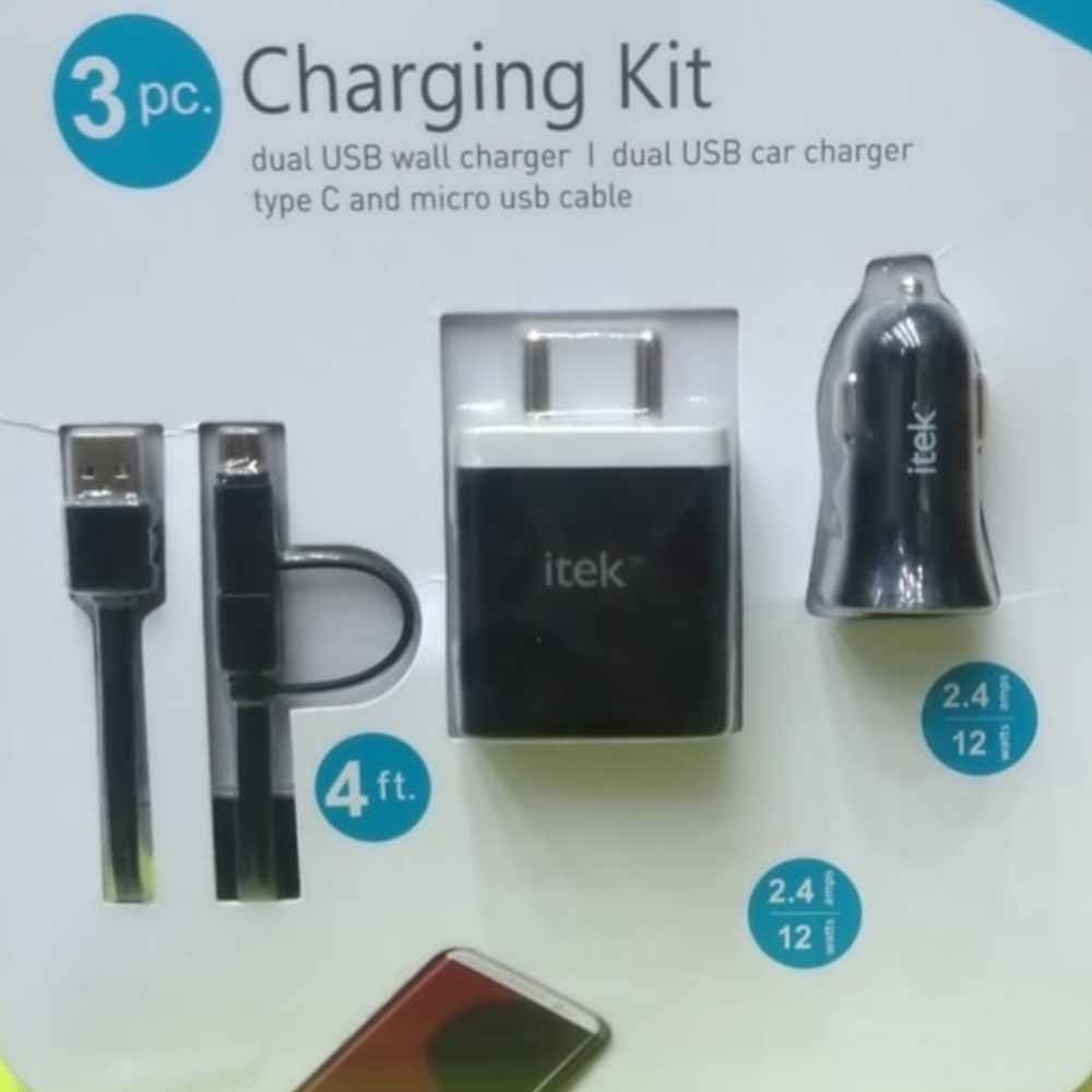 Charger-Itek Charging Kit (3 Pc )