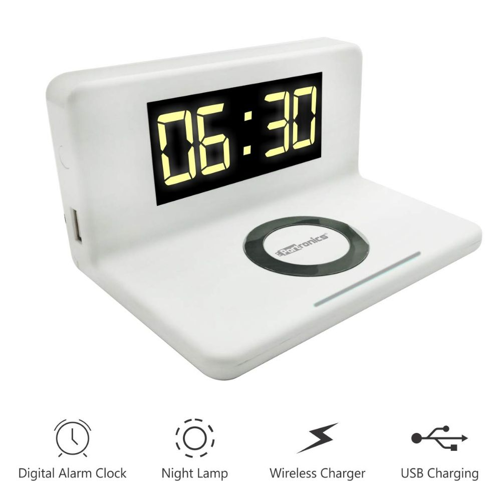 Portronics Freedom4 Wireless Mobile Charger