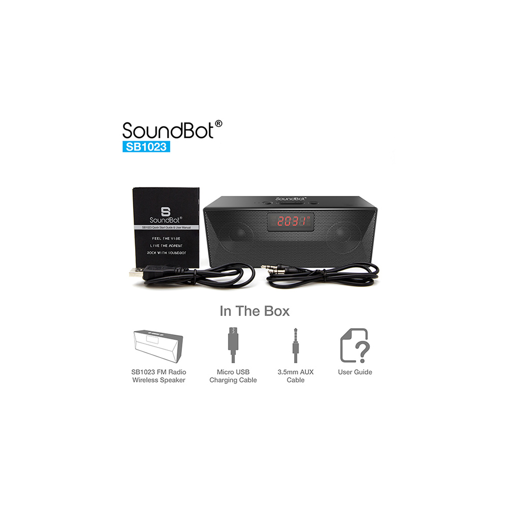 Speakers-SoundBot SB1023 Bluetooth speaker