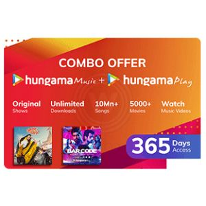 Hungama Combo- 12 Month Subscription
