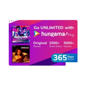 Digital Gift Cards-Hungama Play- 12 Month Subscription
