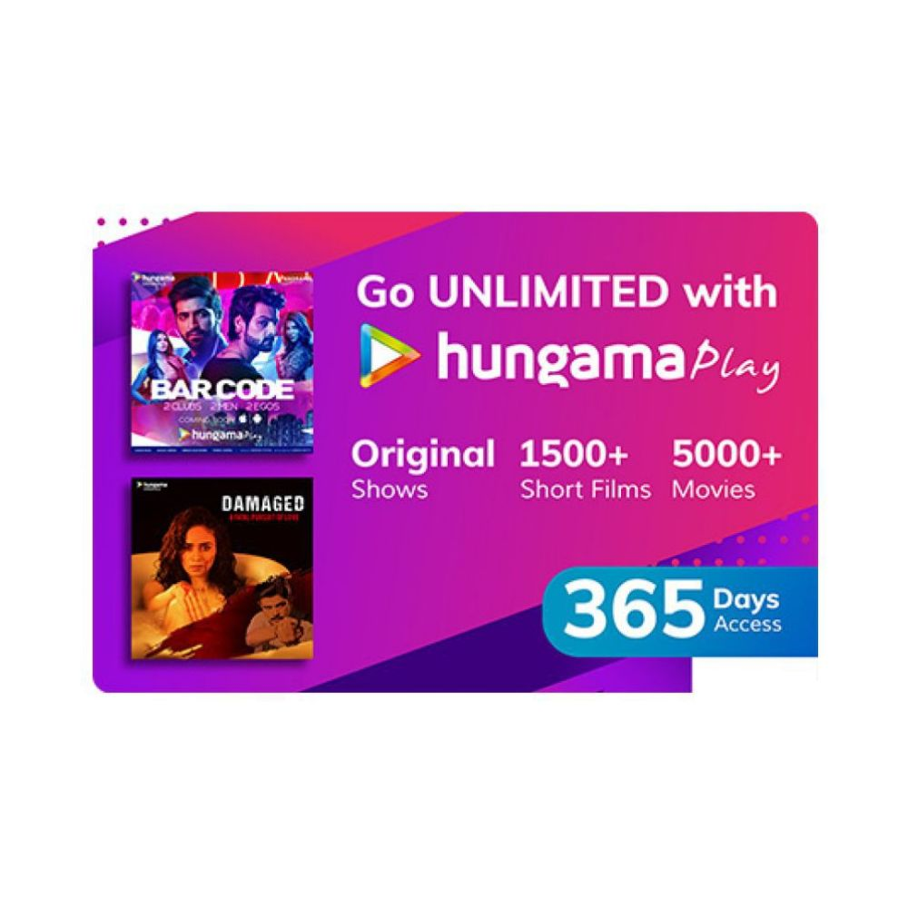 Hungama Play- 12 Month Subscription