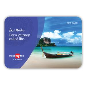 eGift Voucher-MakeMyTrip eVoucher worth Rs 5000