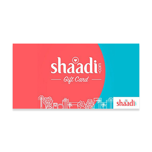 Shaadi Gold E-gift Vouchers Rs.1000