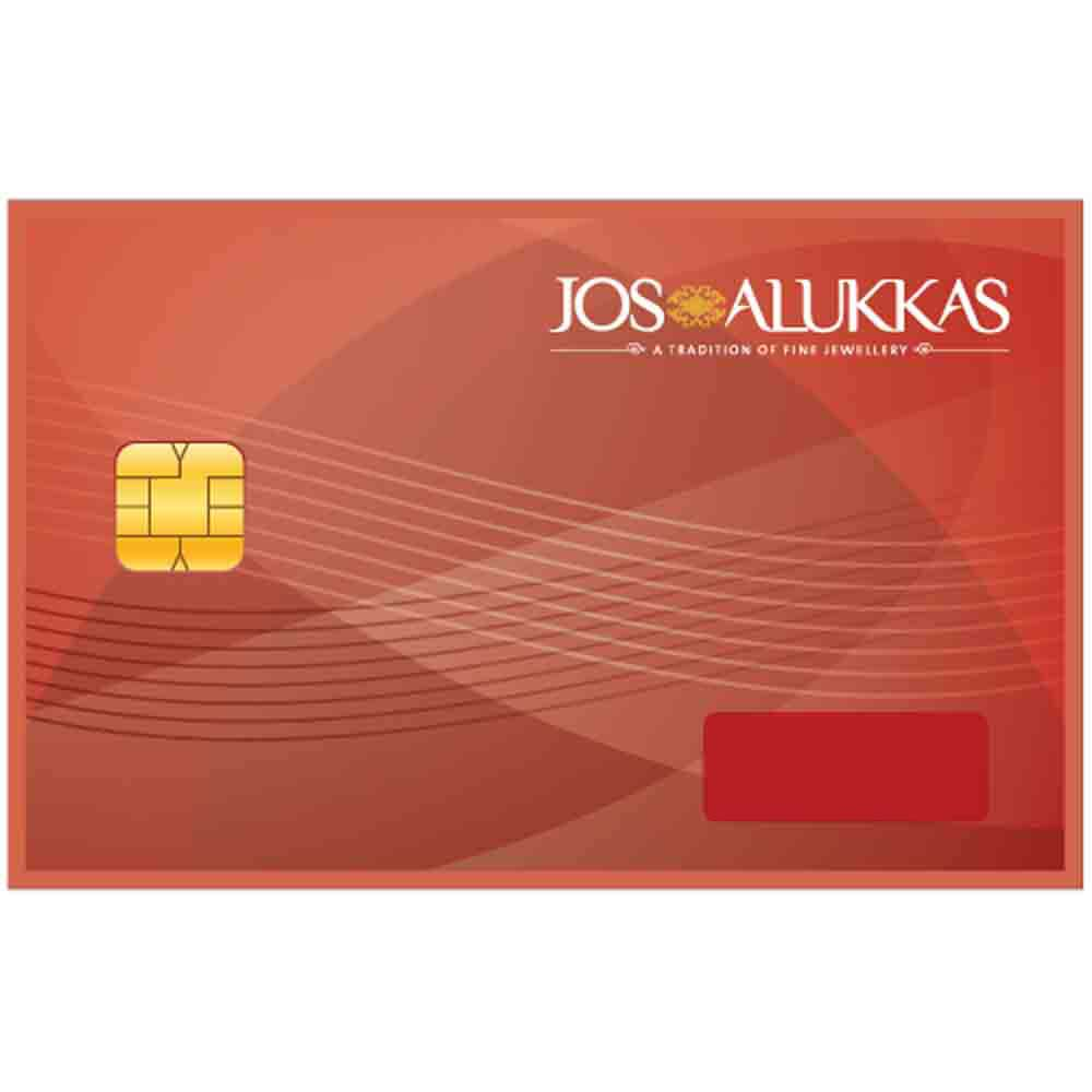 Jos Alukkas Gold Jewellery Egift Voucher - 2000