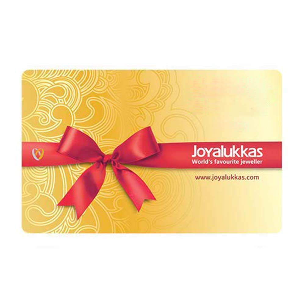 Joy Alukkas Diamond Egift Voucher - 1000