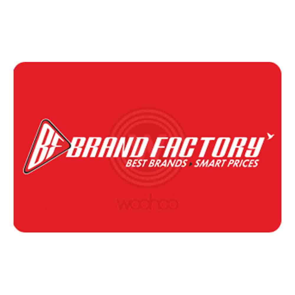 Brand Factory Egift Card - 1000
