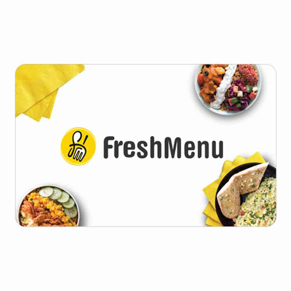 Fresh Menu Egift Card - 1000