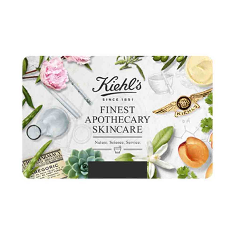 Kiehls Egift Card - 1000