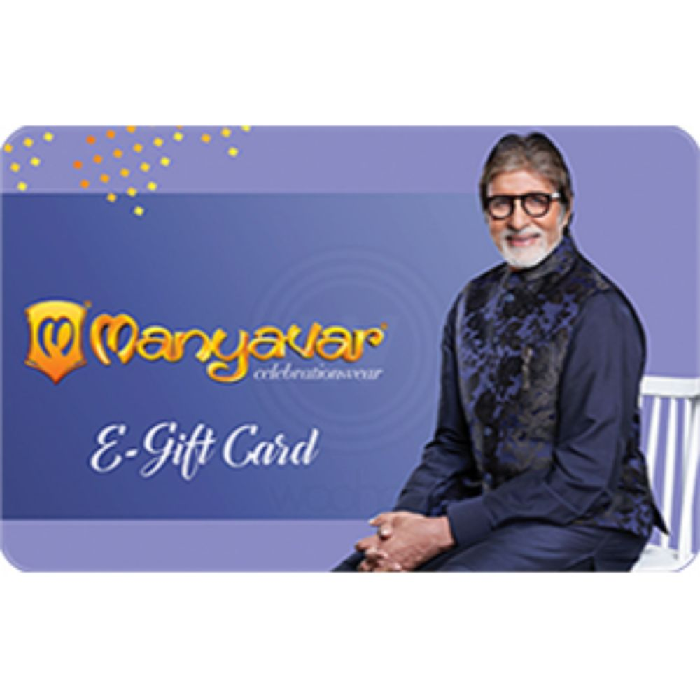Manyavar Egift Voucher - 1000