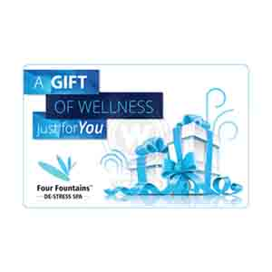 Digital Gifts-Four Fountains De-stress Spa Egift Card - 1000