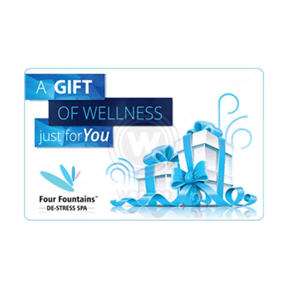 Four Fountains De-stress Spa Egift Card - 1000