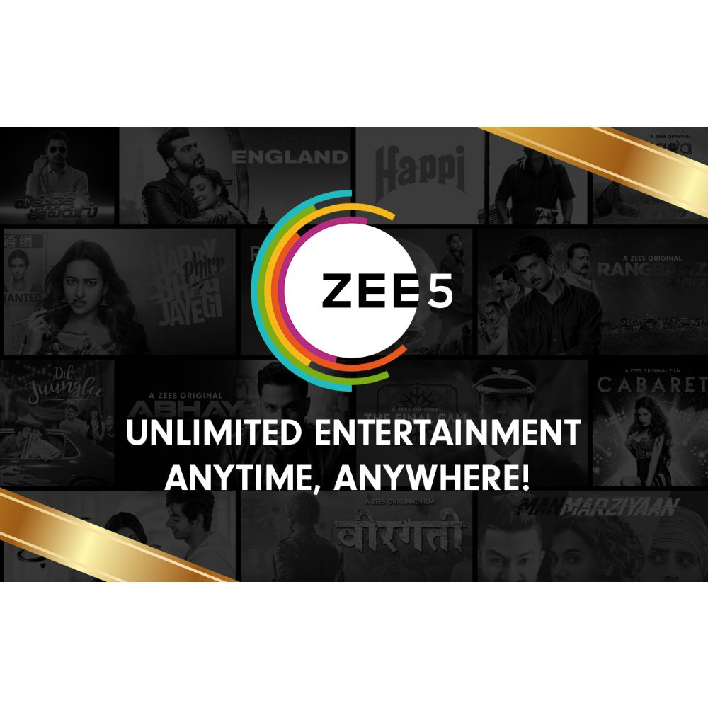 Zee5 subcription Egift Card - 999