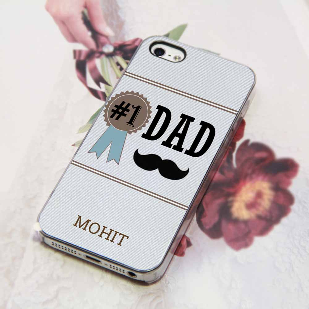 timeless design 3351d f96ee Number One Dad Phone Cover India