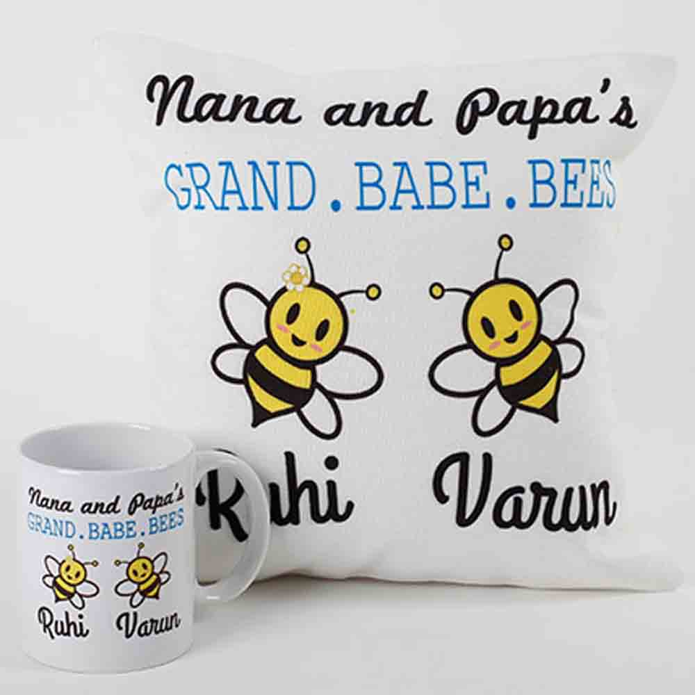 Quirky Gifts-Adorable Mug And Cushion Combo
