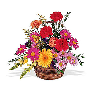 Flower Baskets-Memorial Basket