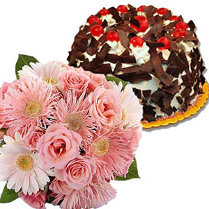 Flowers & Cakes-Simply Great Treat