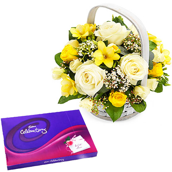 Chocolates & Flowers-Perfect Combo to Gift
