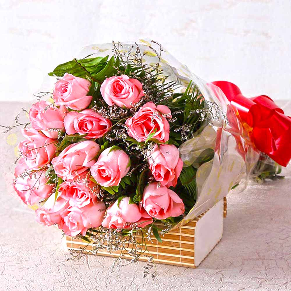 Red Roses-Perfect Pink Roses !